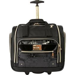 BEBE Danielle Under the Seat Carry-On Rolling Tote Softside