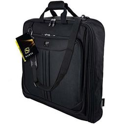 Zegur Deluxe Suit Carry On Garment Bag Travel & Business Tri