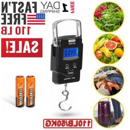 Digital Fishing Scale LCD Electronic Luggage Postal Weight H