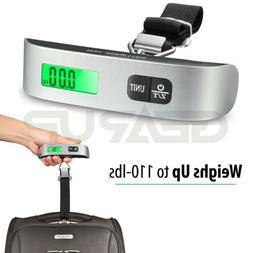 Digital Hanging Luggage Scale 110lb / 50kg Electronic Weight