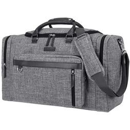 Duffle Bag Leather Weekend Bag Carry On Travel Large Luggage
