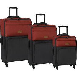 it luggage DuoTone 4 Wheel 3 Piece Set 11 Colors Luggage Set