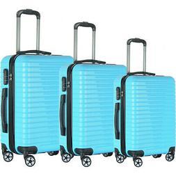 Brio Luggage Eco Light 3 Piece Hardside Spinner Luggage Lugg