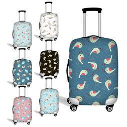 Elastic Women Suitcase Protector Luggage Cover Case Cute Bir