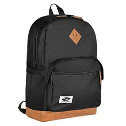 "Olympia Element 18"" Backpack, Black, One Size"