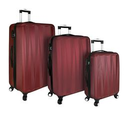 Elite Luggage: Verdugo Hardside 3-Piece Spinner Luggage Set,
