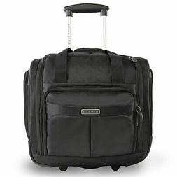 Perry Ellis Excess 16-inch Under the Seat Rolling Tote Bag