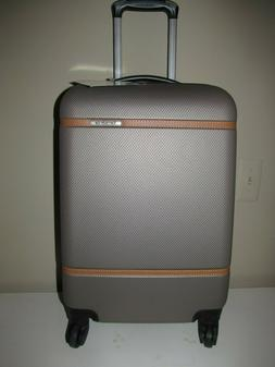 Samsonite Expandable Carry On Spinner, Taupe With Saddle Acc