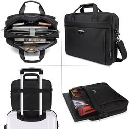 "Extremely BEST Protection For 15.6"" Laptop w/LUGGAGE BELT Sh"