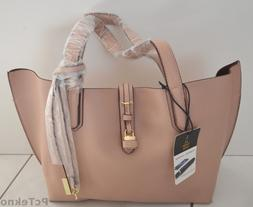 Tutilo Feature Tote Shopper Blush/Luggage Brown W/ Tutilo Bo