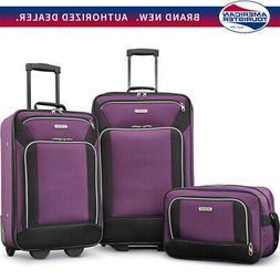 American Tourister Fieldbrook XLT 3 Piece Set - Purple -