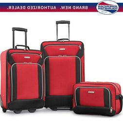 American Tourister Fieldbrook XLT 3 Piece Set - Red -