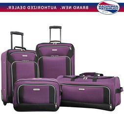 American Tourister Fieldbrook XLT 4 Piece Set - Purple -