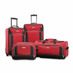 American Tourister Fieldbrook XLT 4pc Set bb/Wh Dfl/ 21/25 U