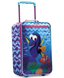 """Disney Finding Dory 18"""" Rolling Suitcase by American Tourist"""