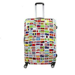 Ful Flags 24-inch ABS Plastic Hard Case Upright Spinner Roll