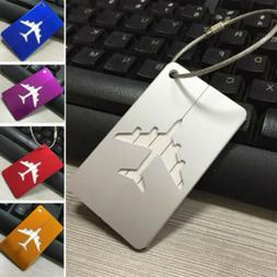 Flight Luggage Tags Strap Name Address ID Suitcase Baggage T