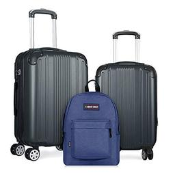 Fochier 2 Piece Luggage Sets Expandable Lightweight Spinner