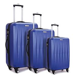 Fochier Hardside Luggage Lightweight 3 Piece Spinner Suitcas