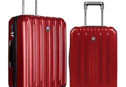 Fochier Luggage Sets 2 Piece Expandable Hardshell PC Suitcas