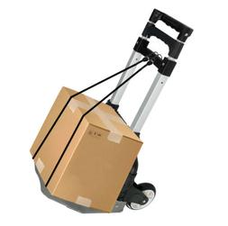 Foldable Aluminium Folding Luggage Cart And Hand Truck Troll