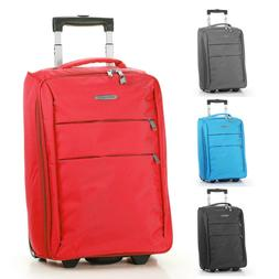 """20"""" Carry on Luggage Bag Foldable Rolling Travel Lightweight"""