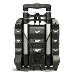 RMS Folding Luggage Cart/Lightweight Aluminum Hand Truck wit