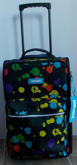 Fortnite KIds Rolling Luggage Carry On Suitcase ~ NWT Color