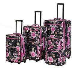 Four Piece Pucci Luggage Set - by Fox Luggage
