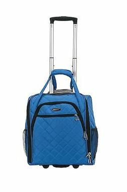 FOXL-BF31BLUE-Rockland Melrose Wheeled Underseat Carry-On, B