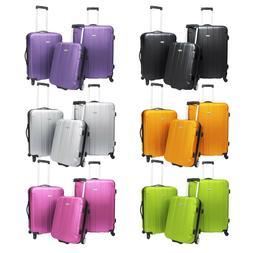 Free TSA Lock Travelers Choice Rome 3pc Hardside Lightweight