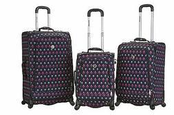 Fusion 3 Piece Luggage Set Polyester - Icon New