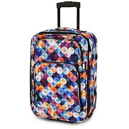 Elite Luggage Gem Bubbles Carry-on Rolling Luggage, Multi-Co