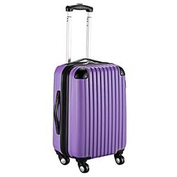 "Goplus 20"" ABS Carry On Luggage Expandable Hardside Travel B"