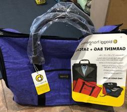 Biaggi Hangeroo Garment Bag Satchel zipsak Color Purple As S