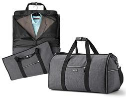 Biaggi Luggage Hangeroo Two-In-One Garment Bag + Duffle
