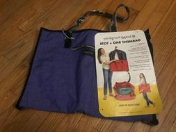 Biaggi hangeroo Zipsak Purple  2-in-1 Garment Bag & Tote....