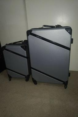 Samsonite Harddside luggage spinner SET Silver Carry on 20in