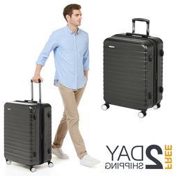 Hardside Luggage With TSA Lock Lightweight Corner Polycarbon