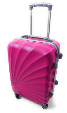 Hardside Spinner Luggage - 20-Inch, Carry-On-4 Wheels-Hot Pi