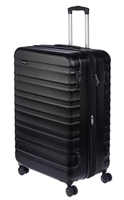 AmazonBasics Hardside Spinner Luggage -  28-Inch, Black