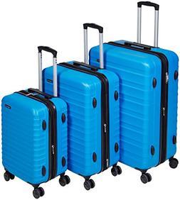 AmazonBasics Hardside Spinner Luggage - 3 Piece Set , Light
