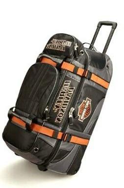 Harley-Davidson 22in Wheeled Pullman Duffel Carry-on Luggage
