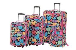 Rockland 4-pc. New Heart Luggage Set