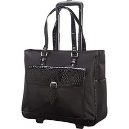 Heritage Travelware Women's Carry On Wheeled 17-inch Laptop