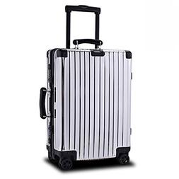 high end all aluminum password machine suitcase