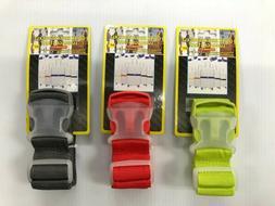 "High Quality Heavy Duty Nylon Adjustable Luggage Strap 80"""