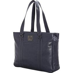 Kenneth Cole Reaction Hit a Triple Faux Leather Laptop Tote