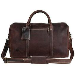 Home & Kitchen Features Leather Carry On Bag - Airplane Unde