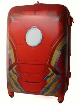 """American Tourister Iron Man Luggage Hardside 28"""" Inch Spinne"""